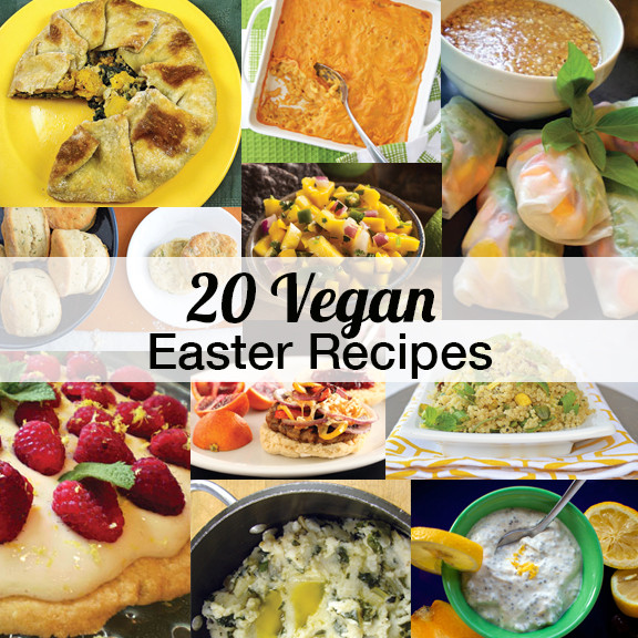 Easter Vegetarian Recipes  20 Vegan Easter Recipes