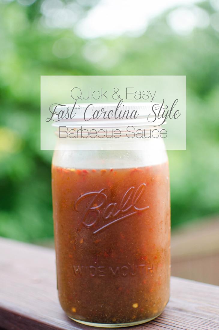 Eastern Bbq Sauce  RECIPE