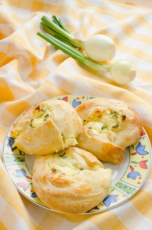 Eastern European Recipes  Eastern European Recipe Cheese And Scallion Knishes – 12