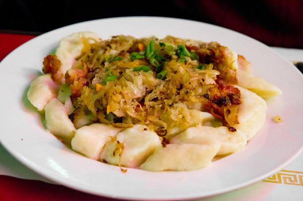 Eastern European Stuffed Dumplings  A Tour of the East Village s Borscht Belt Restaurants and