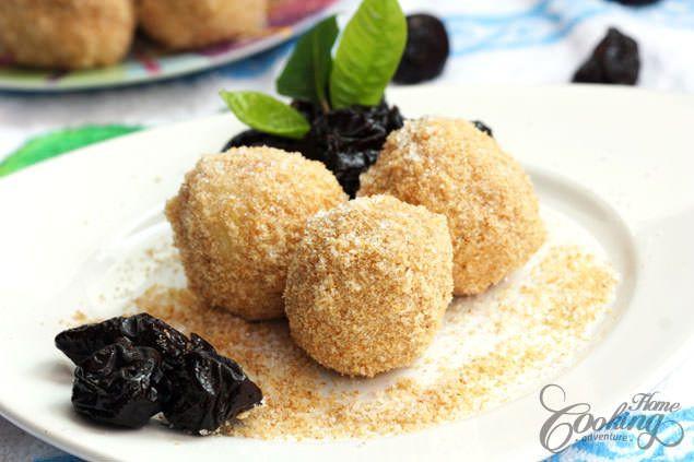 Eastern European Stuffed Dumplings  Potato Plum Dumplings Recipe