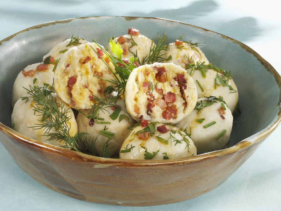 Eastern European Stuffed Dumplings  Hungarian Slovak Potato Dumplings Recipe