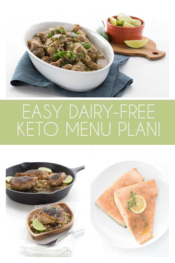 Easy Dairy Free Dinners  Easy Dairy Free Keto Meal Plan