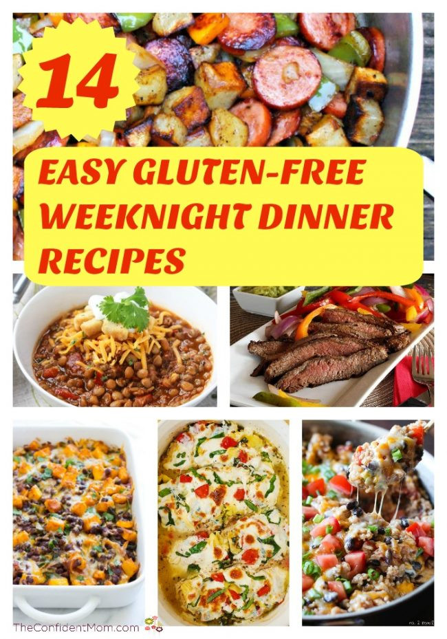 Easy Dairy Free Dinners  14 Easy Gluten Free Weeknight Dinner Recipes The