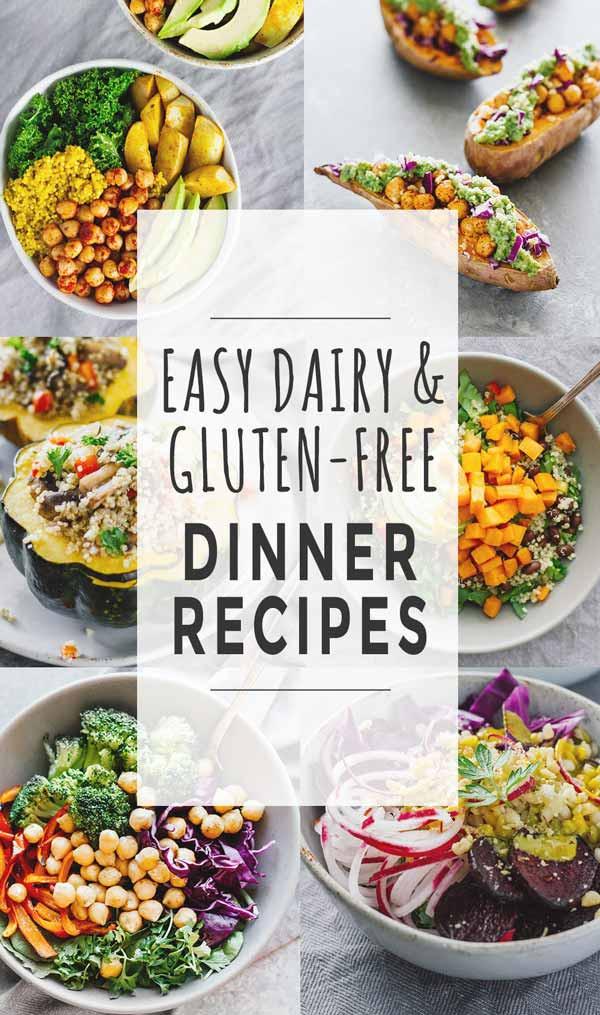 Easy Dairy Free Dinners  Easy Dairy & Gluten Free Dinner Recipes Jar Lemons