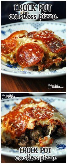 Easy Diabetic Crock Pot Recipes  Best 25 Crock pot pizza ideas on Pinterest
