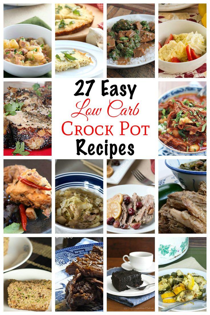 Easy Diabetic Crock Pot Recipes  Low Carb Crock Pot Recipes