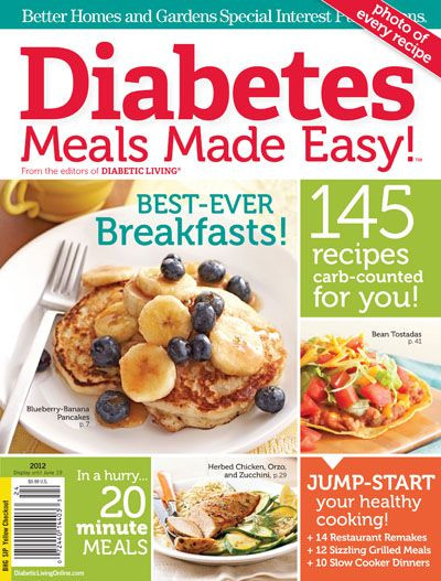 Easy Diabetic Dinner Recipes For Two  Diabetes Meals Made Easy ly $8 99
