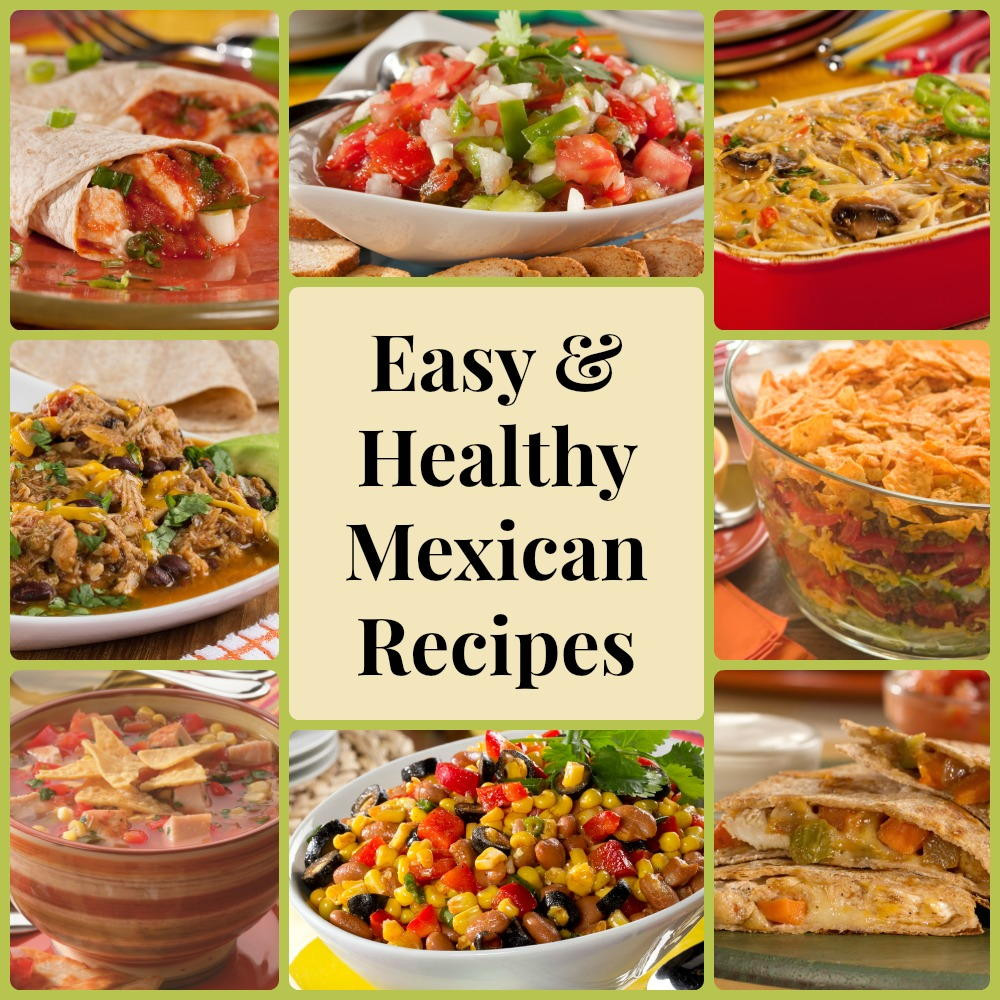 Easy Diabetic Dinner Recipes For Two  13 Easy & Healthy Mexican Recipes