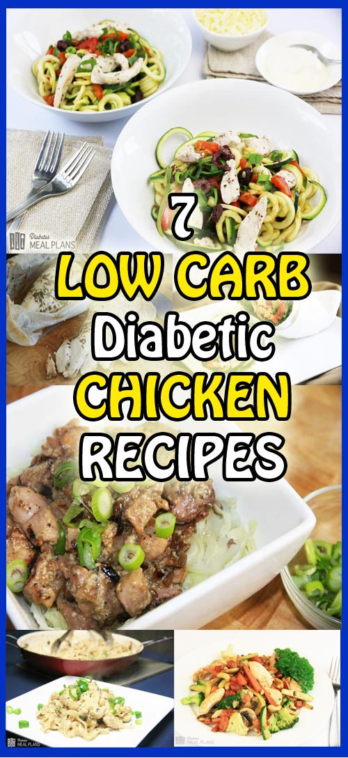 Easy Diabetic Dinners  7 delicious diabetic chicken recipes