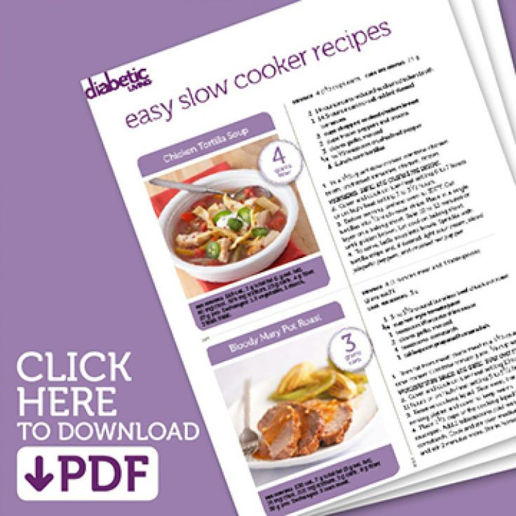 Easy Diabetic Slow Cooker Recipes  1000 images about Diabetic Slow Cooker Recipes on