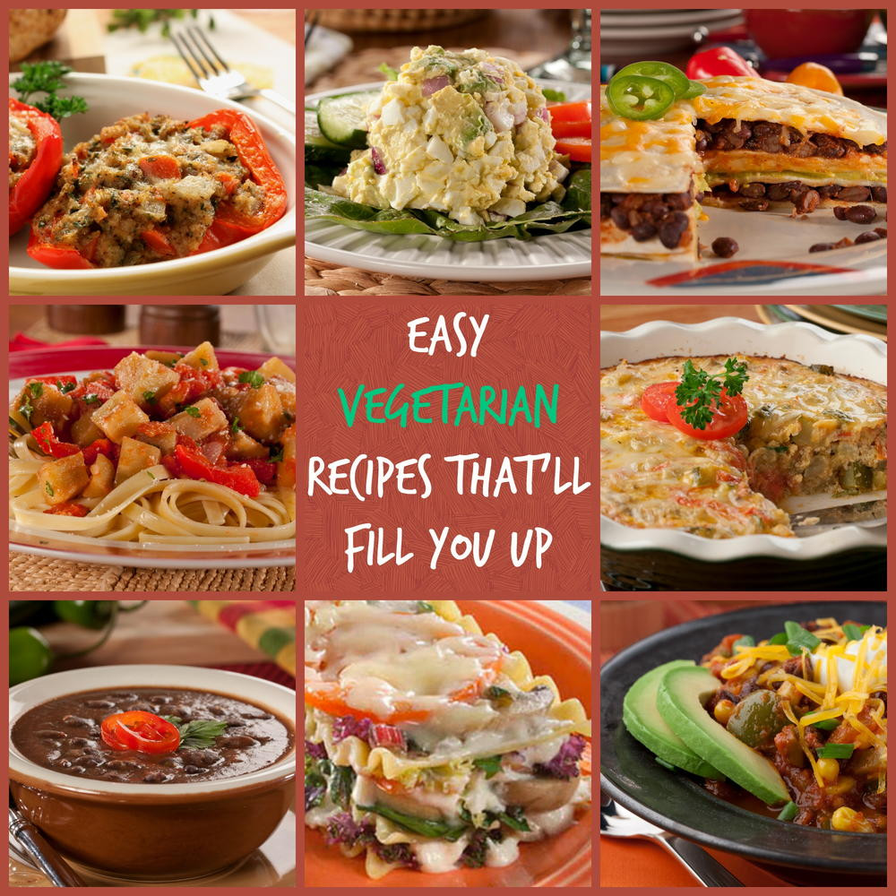 Easy Dinner Recipes Vegetarian  10 Easy Ve arian Recipes That ll Fill You Up