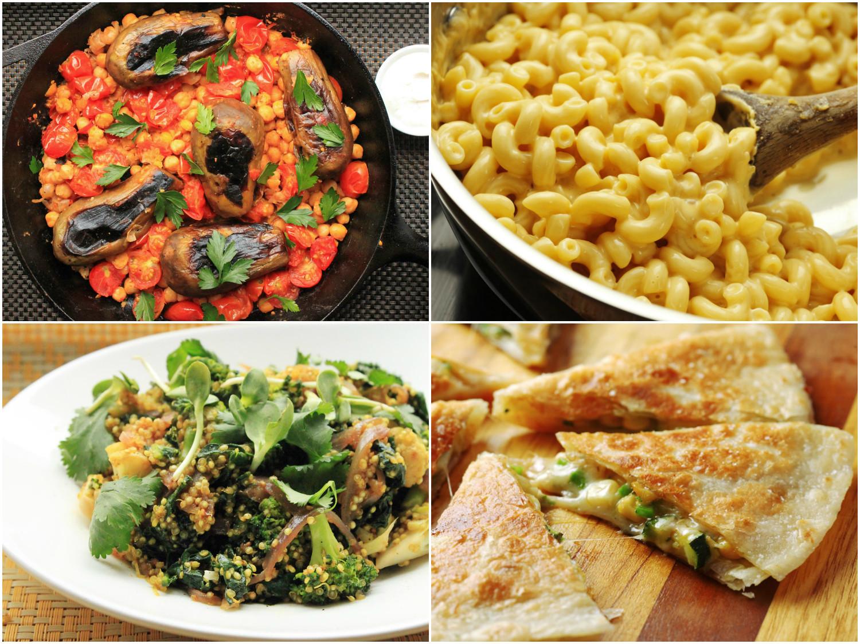 Easy Dinner Recipes Vegetarian  15 Easy e Pot Ve arian Dinners