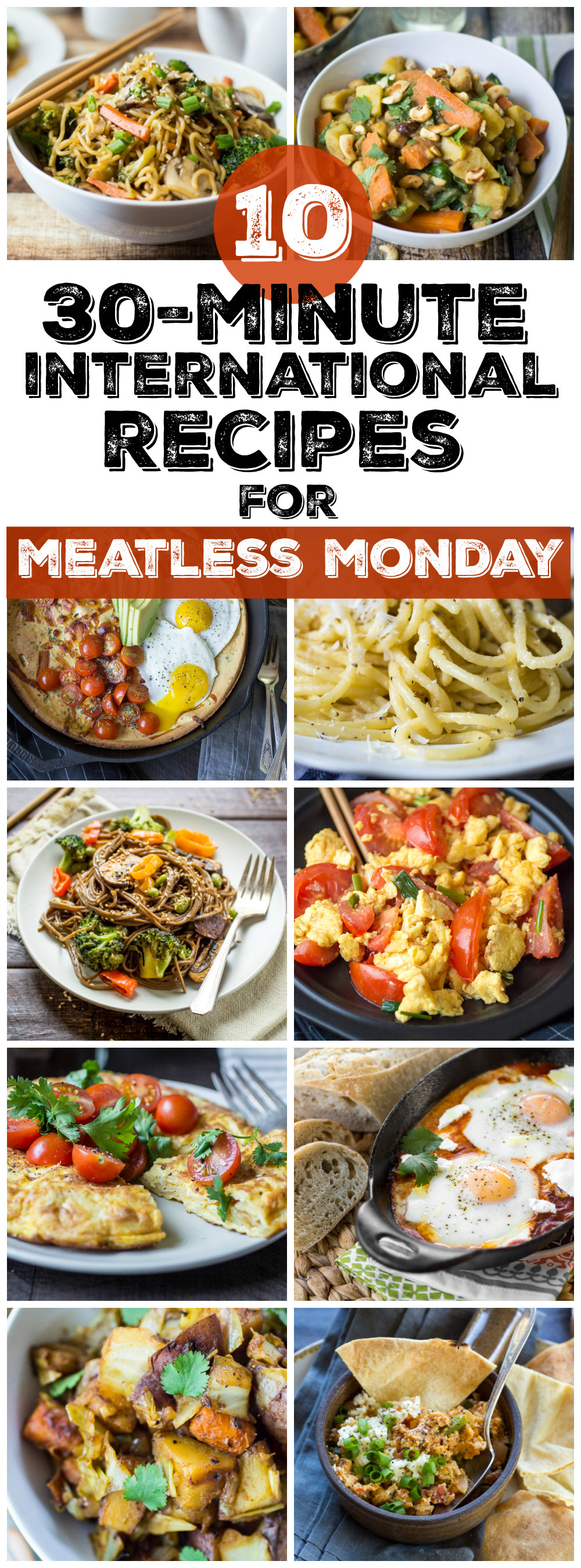 Easy Dinner Recipes Vegetarian  10 Easy Ve arian Dinner Recipes from Around the World