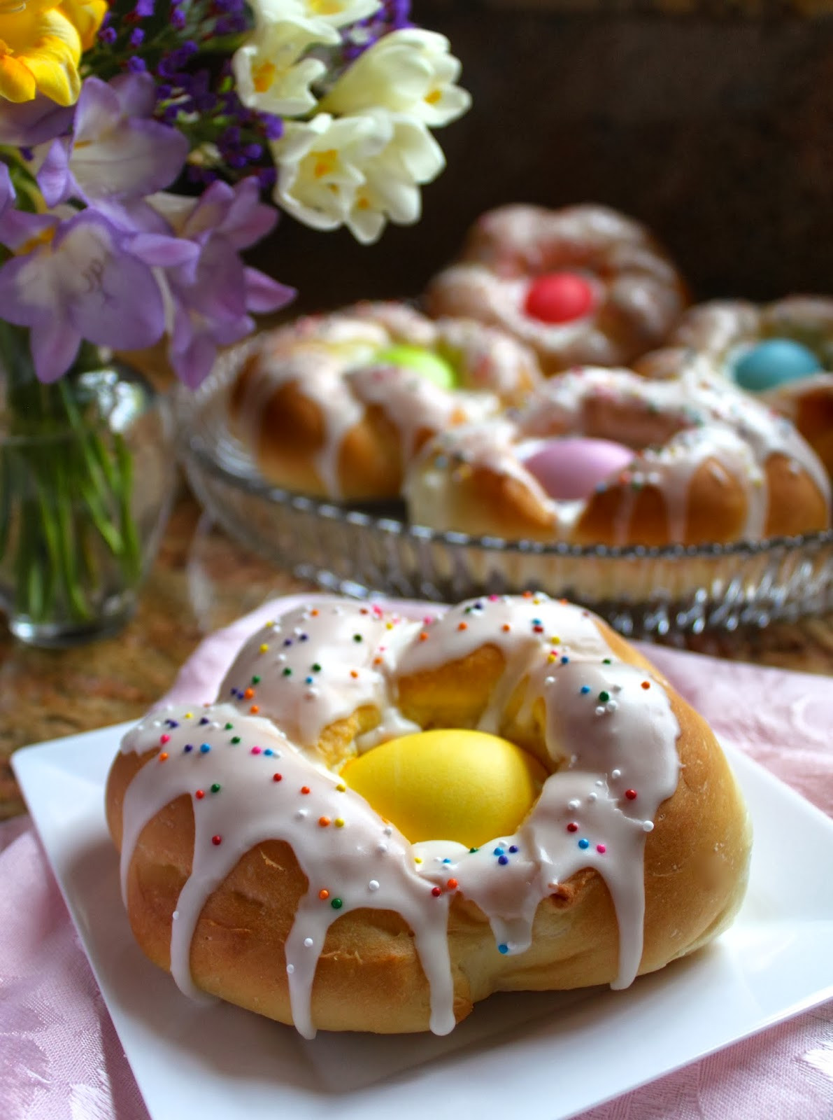 Easy Easter Bread  Individual Italian Easter Bread Rings…Easy Step by Step
