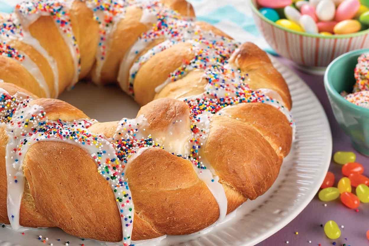 Easy Easter Bread Recipe  sweet easter bread
