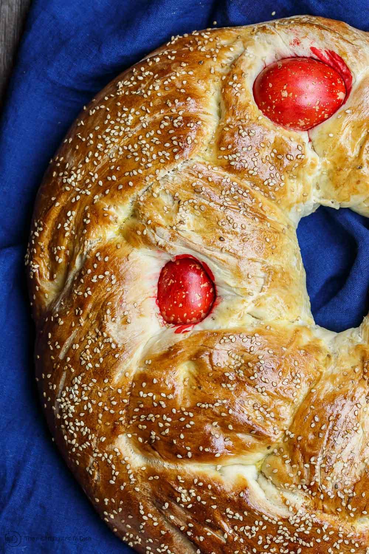 Easy Easter Bread  Easy Greek Easter Bread Recipe