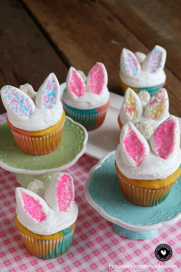 Easy Easter Cupcakes  Easy Bunny Cupcakes Hoosier Homemade