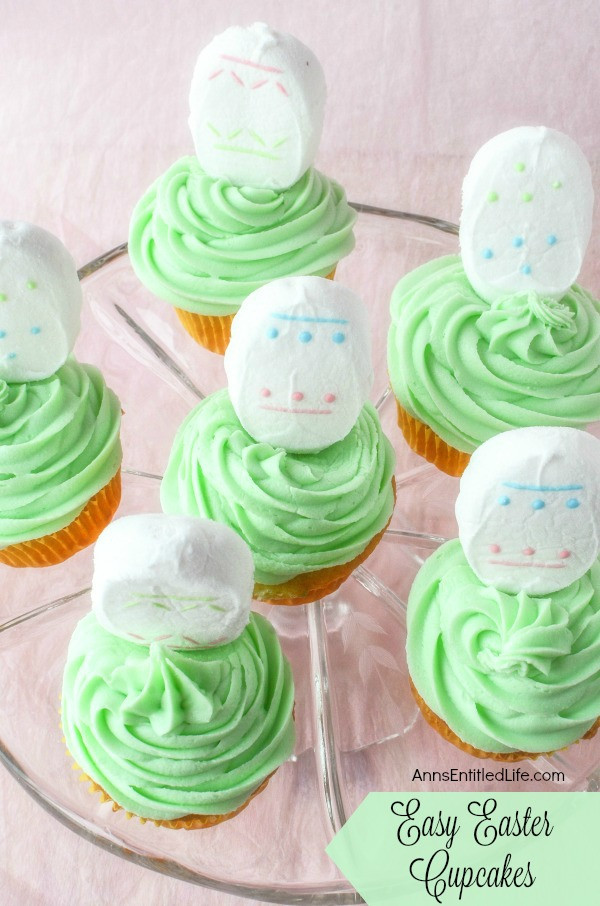 Easy Easter Cupcakes  Easy Easter Cupcakes Recipe