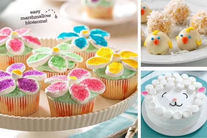 Easy Easter Desserts For Kids  Cute & Colorful Easter Dessert Ideas