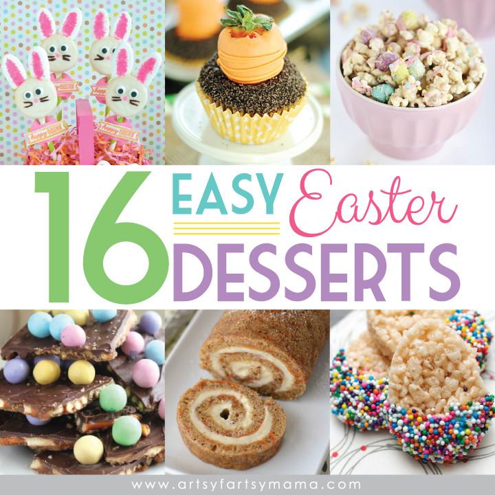 Easy Easter Desserts For Kids  16 Easy Easter Desserts