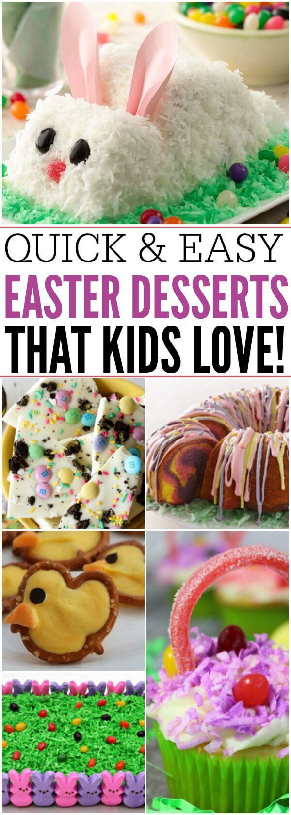Easy Easter Desserts For Kids  Easy Easter Desserts 21 Cute Easter Desserts for Kids