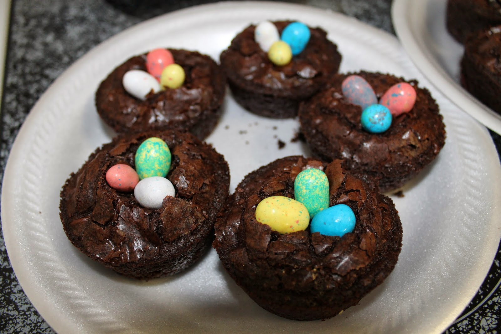 Easy Easter Desserts For Kids  Let It Be Glory Brownie Bird Nests Super Duper Easy