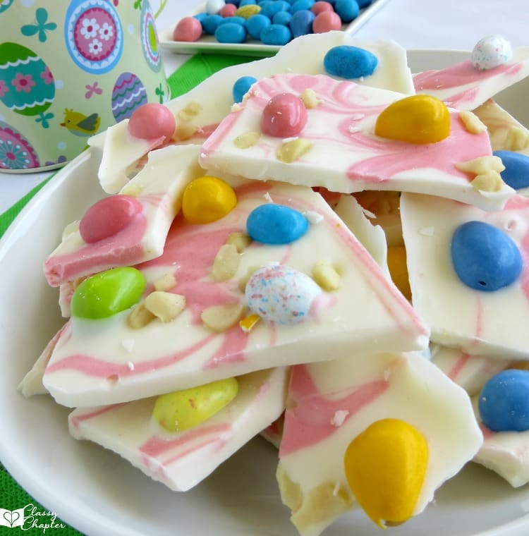 Easy Easter Desserts Recipe  Chocolate Easter Bark