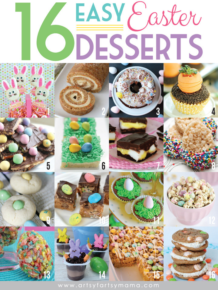 Easy Easter Desserts Recipes With Pictures  16 Easy Easter Desserts
