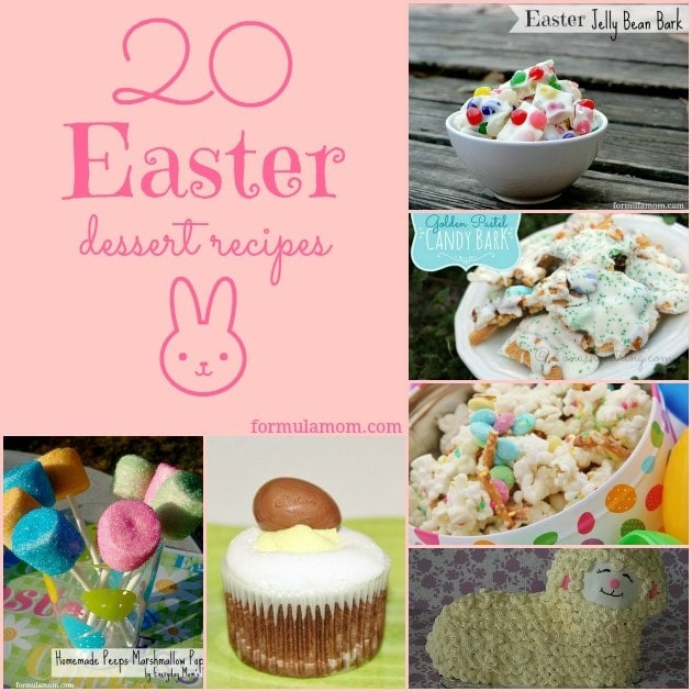 Easy Easter Desserts Recipes With Pictures  Easter dessert easy recipes Food easy recipes