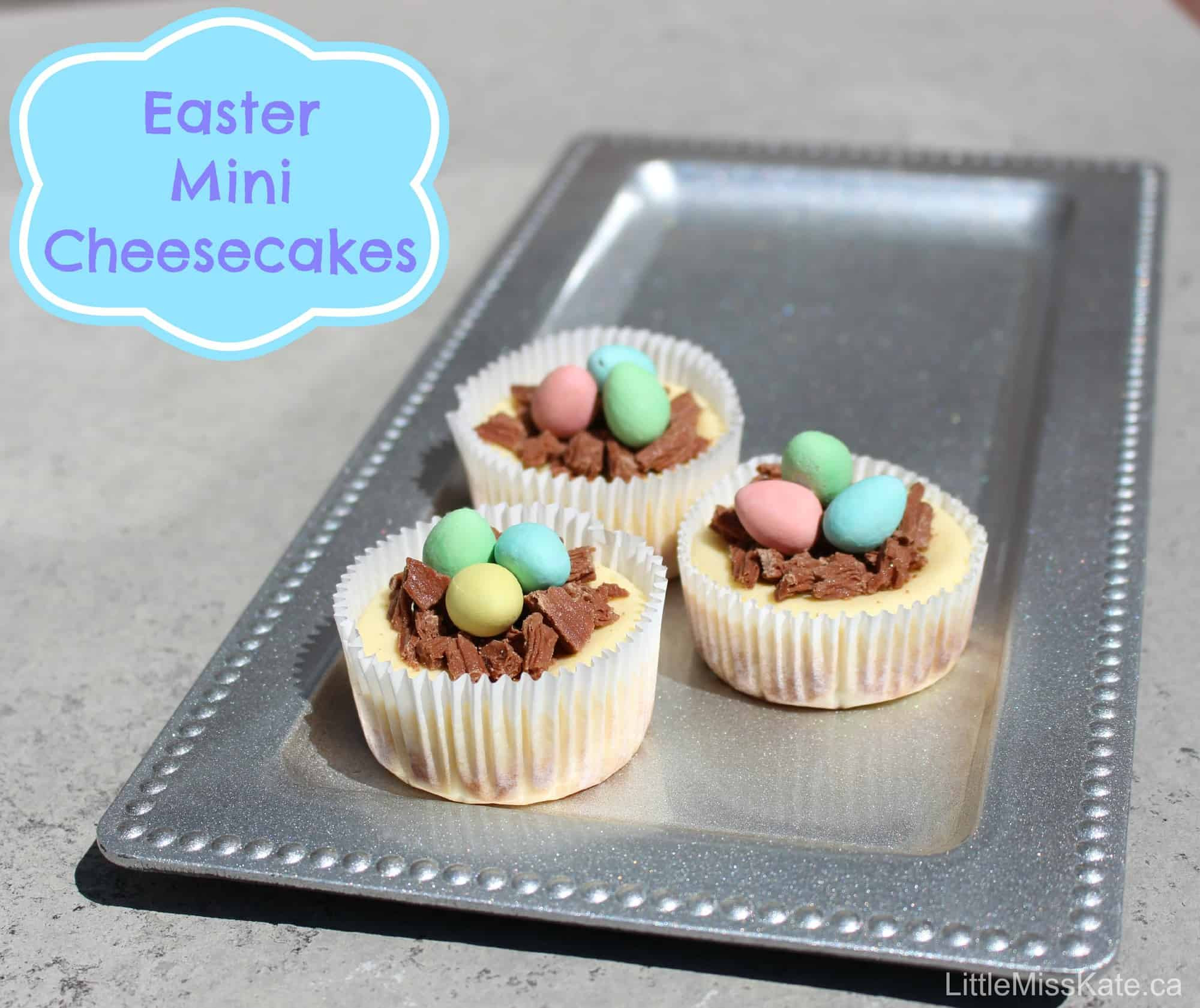 Easy Easter Desserts Recipes With Pictures  Easter Dessert Ideas Easy Mini Cheesecake Recipe Little