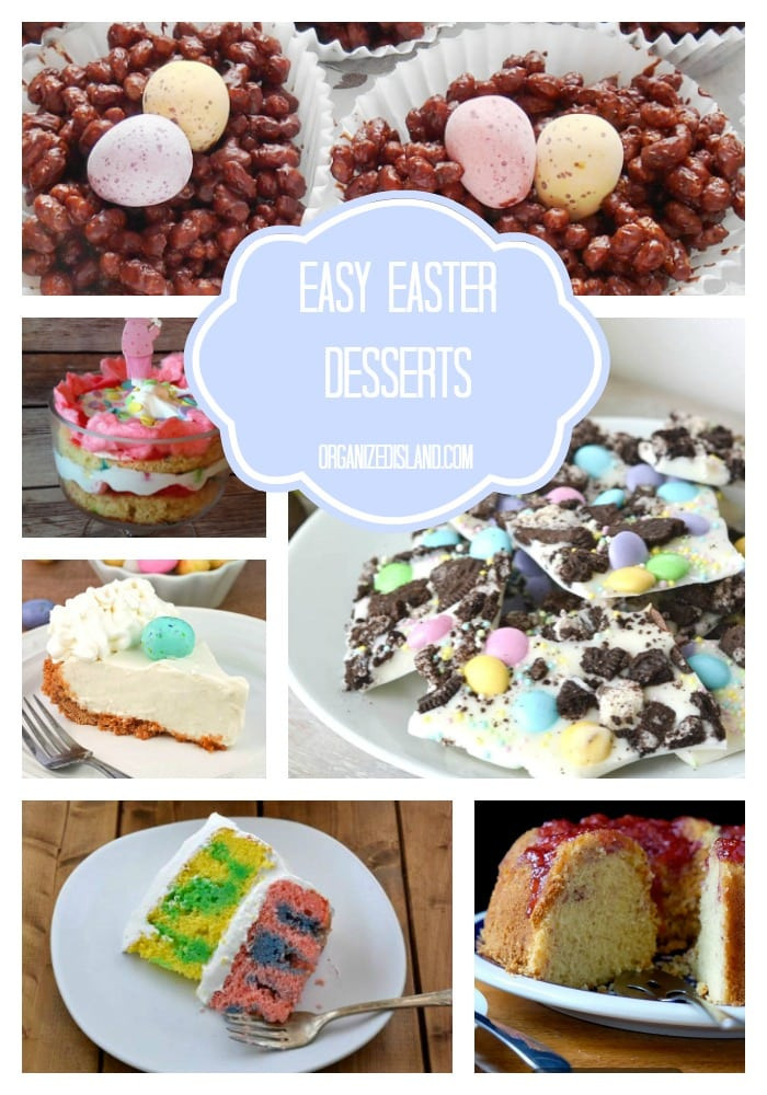 Easy Easter Desserts Recipes With Pictures  Easy Easter Desserts