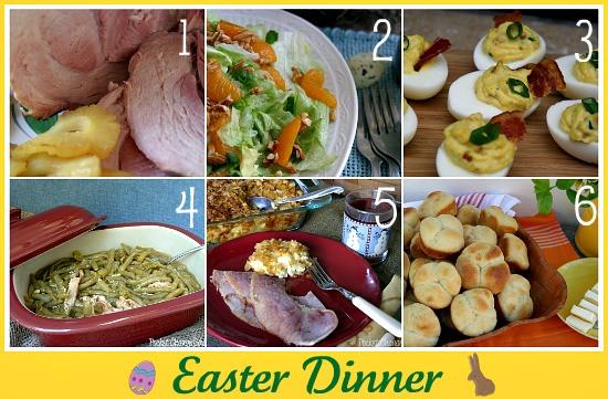 Easy Easter Dinner Recipe  March Menu Plan 2013 Recipe