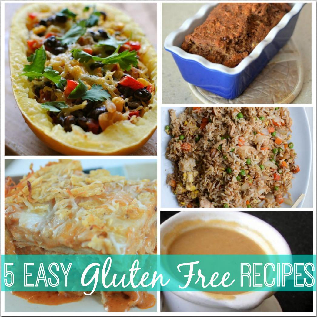 Easy Gluten Free Chicken Recipes  Gluten Free Recipe Roundup Banana Bread Cream of Chicken