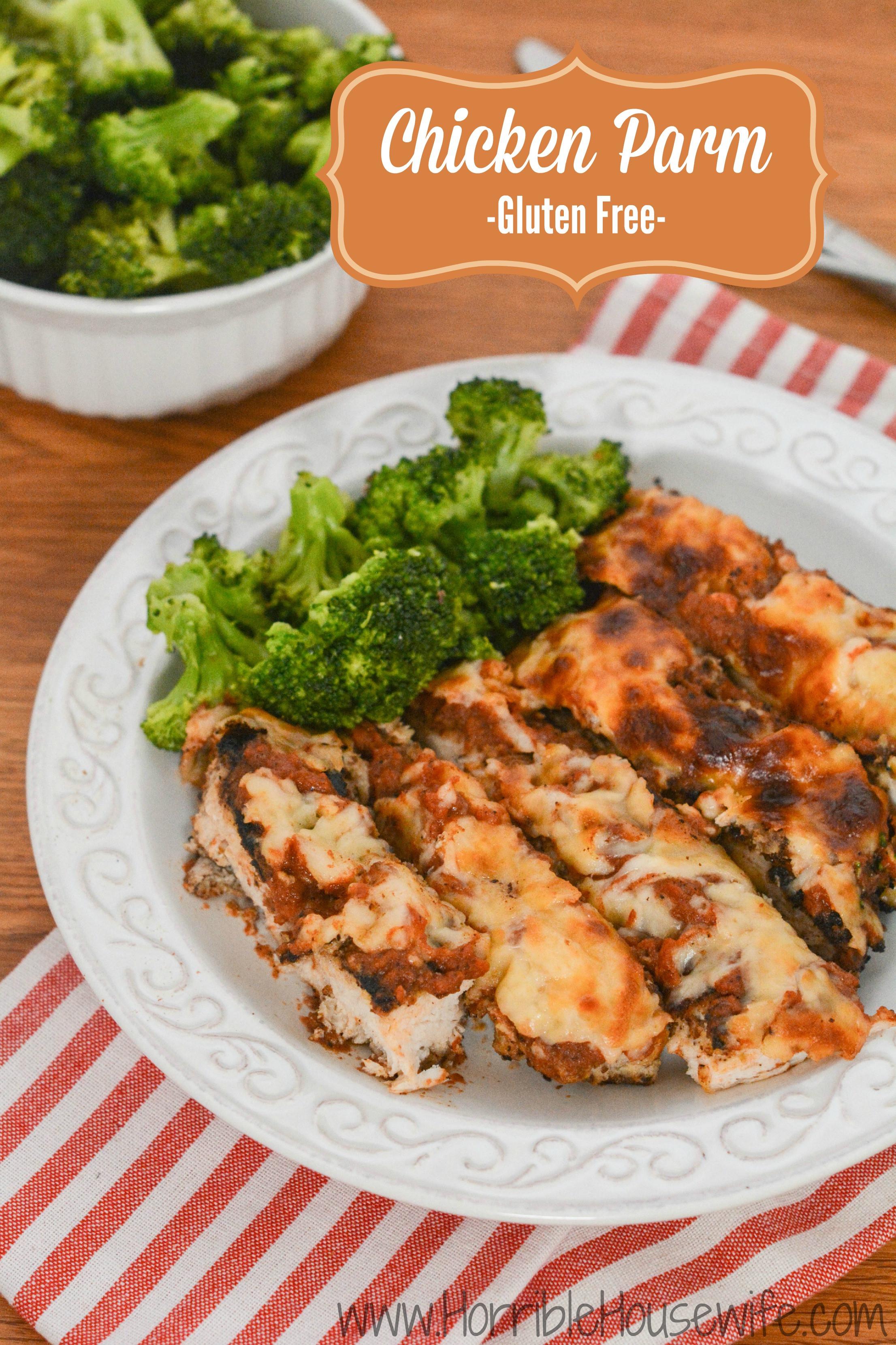 Easy Gluten Free Chicken Recipes  Gluten Free Chicken Parmesan