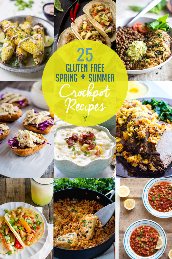 Easy Gluten Free Crockpot Recipes  25 Spring and Summer Gluten Free Crock Pot Recipes
