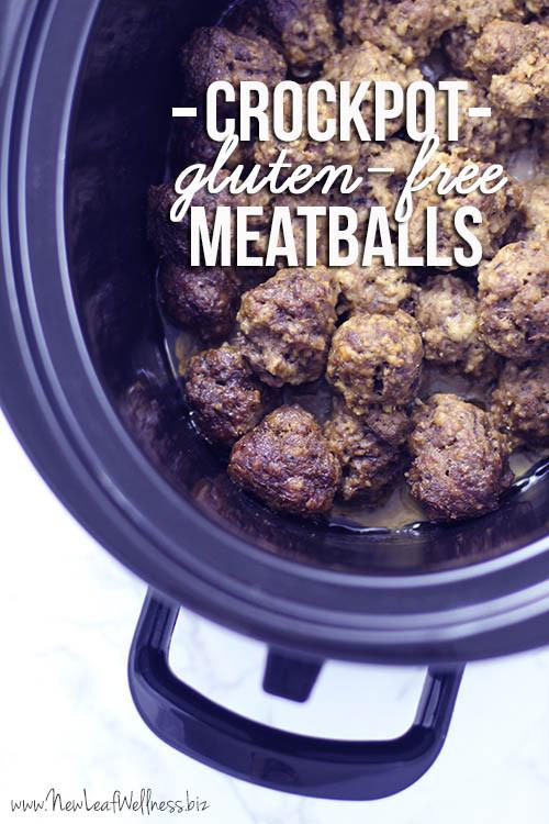 Easy Gluten Free Crockpot Recipes  Gluten Free Meatballs Crock Pot Recipe – New Leaf Wellness