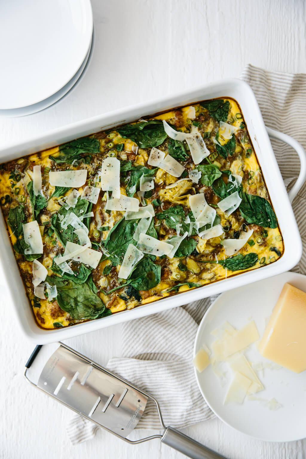 Easy Healthy Breakfast Casserole  Healthy Breakfast Casserole gluten free paleo