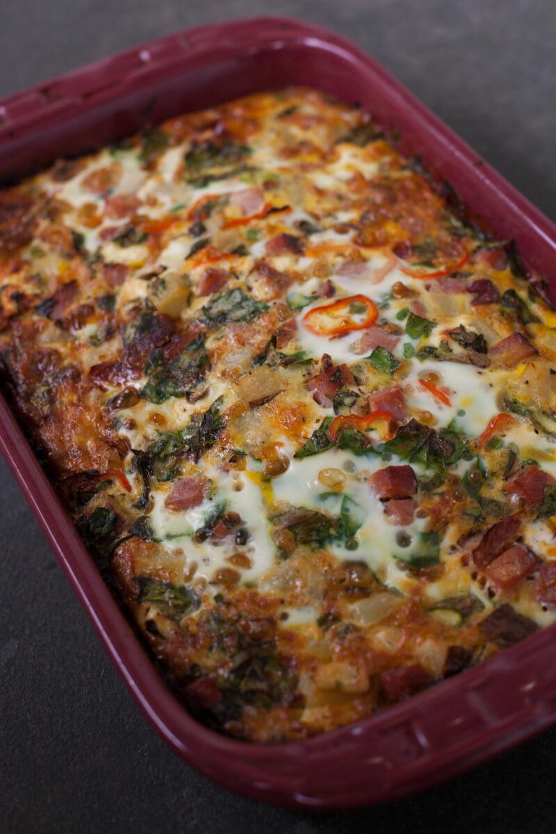 Easy Healthy Breakfast Casserole  healthy breakfast casserole