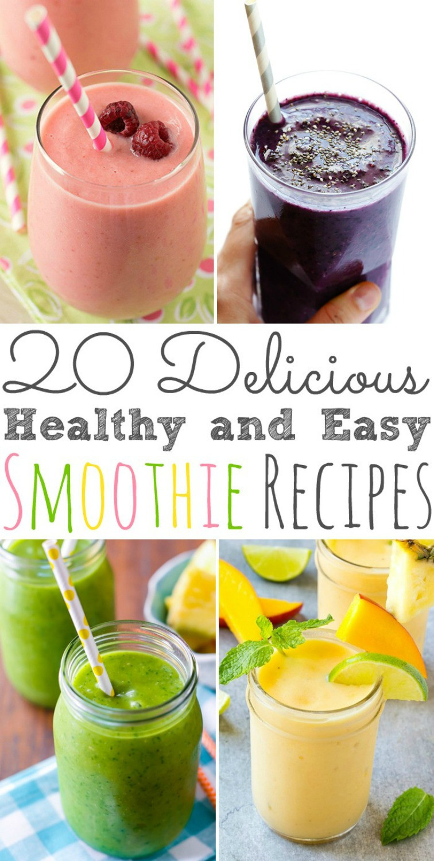 Easy Healthy Breakfast Smoothies  20 Fall Breakfast Recipes