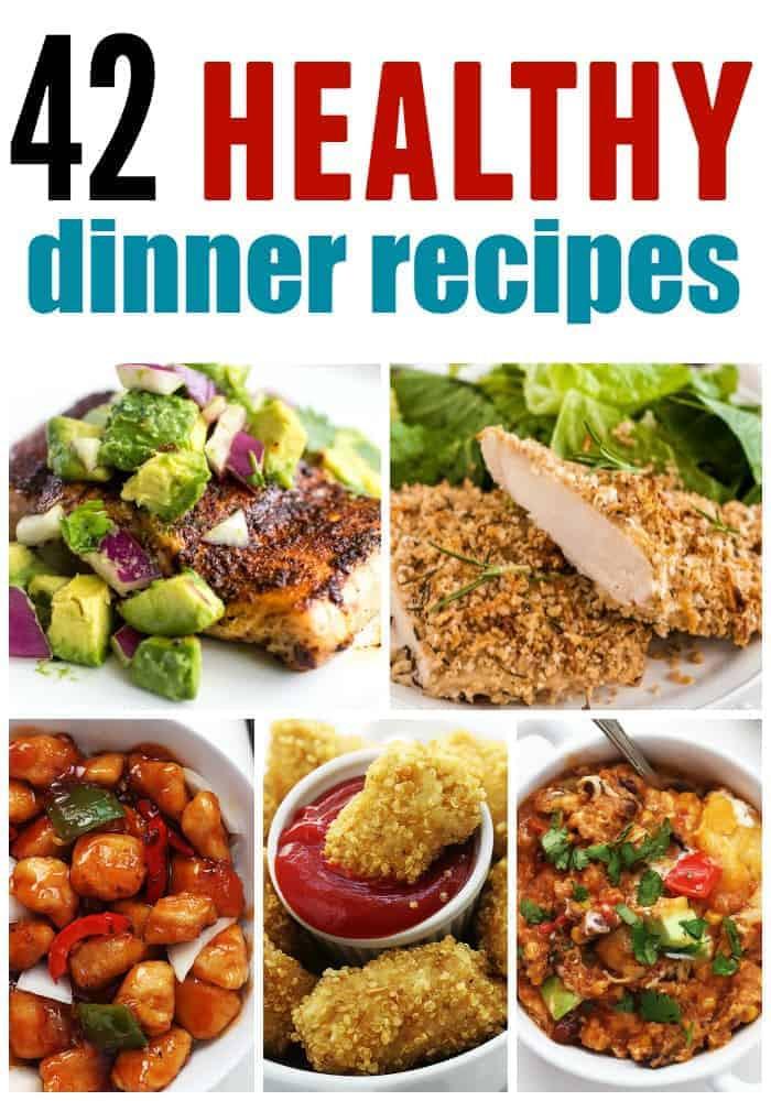 Easy Healthy Dinner Ideas  Healthy Dinner Roundup