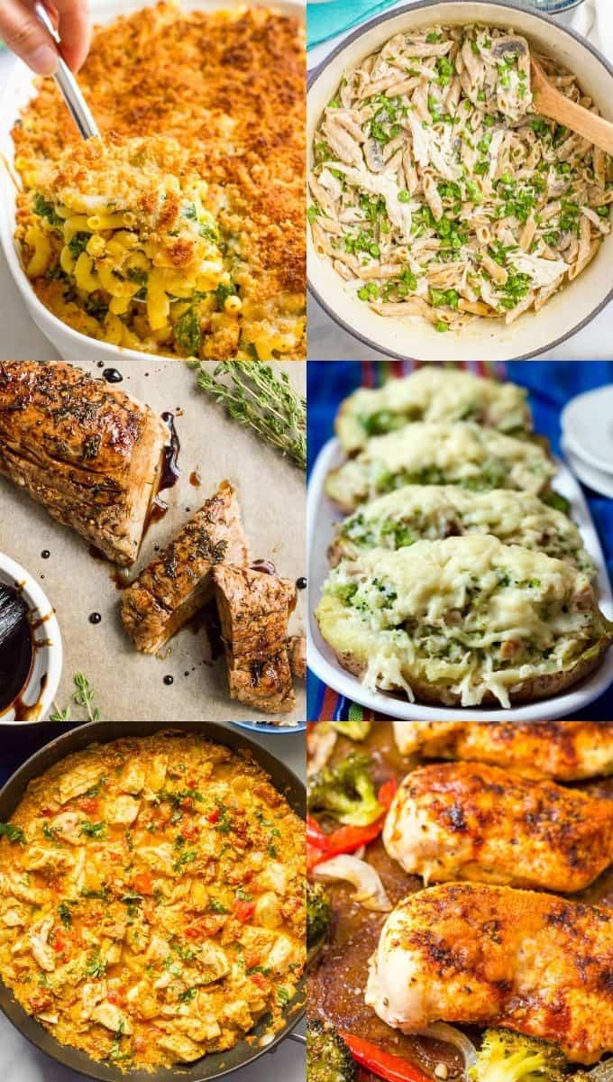 Easy Healthy Dinner Ideas  30 easy healthy family dinner ideas Family Food on the Table