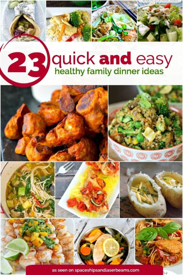 Easy Healthy Dinner Ideas  23 Quick and Easy Healthy Family Dinner Ideas Spaceships