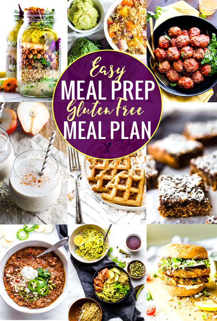 Easy Healthy Gluten Free Recipes  Easy Meal Prep Recipes for a Gluten Free Meal Plan