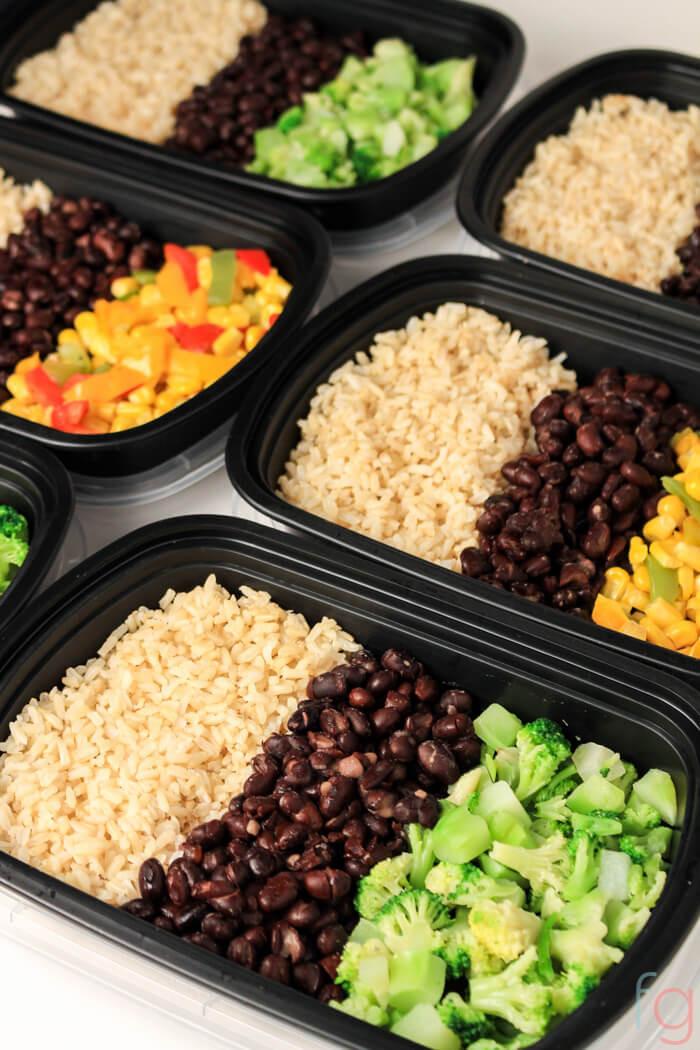Easy Healthy Vegetarian Dinner Recipes  Easy Ve arian Meal Prep 30 Minute Vegan Meal Prep