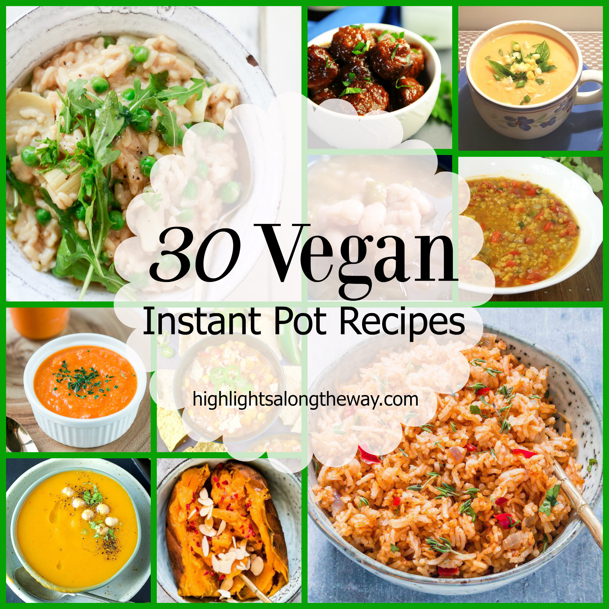 Easy Instant Pot Recipes Vegetarian  Easy Vegan Instant Pot recipes Plant based recipes for