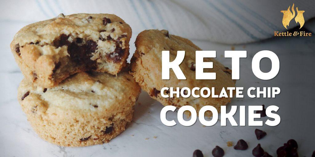 Easy Keto Chocolate Chip Cookies  Keto Chocolate Chip Cookies
