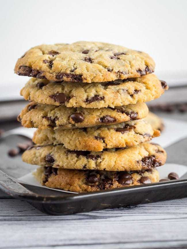 Easy Keto Chocolate Chip Cookies  Keto Chocolate Chip Cookies Best Low Carb Super Soft Cookies
