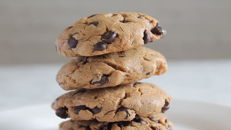 Easy Keto Chocolate Chip Cookies  Healthy Paleo Keto & Gluten Free Recipes Nutrition Tips