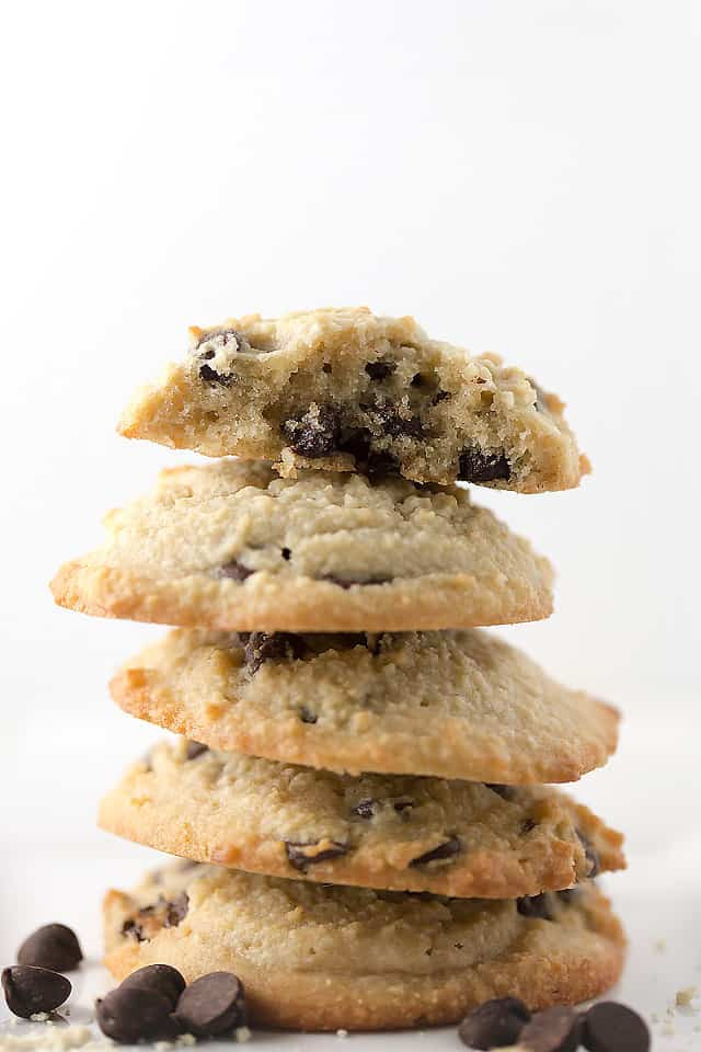 Easy Keto Chocolate Chip Cookies  Keto Chocolate Chip Cookies • Low Carb with Jennifer